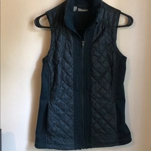 Deep teal Athleta insulated vest